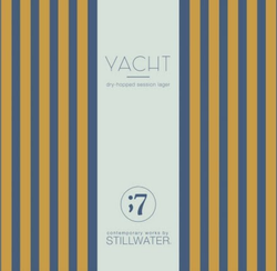 Contemporary Works by Stillwater Yacht Lager 16oz Can