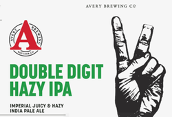 Avery Double Digit Hazy IPA 12oz Can