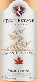 Reif Estate Winery Grand Reserve Vidal Icewine 2016