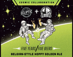 Ecliptic / Russian River Belgian Hoppy Golden Ale 500mL Bottle