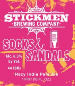 Stickmen Brewing Socks & Sandals 16oz Can