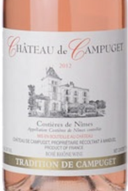 Chateau de Campuget Tradition Rose 2019