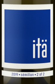 Ita Wines 2 of 2 Semillon 2019