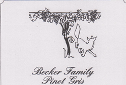 Becker Estate Pinot Gris 2018