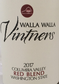 Walla Walla Vintners Red Blend 2017