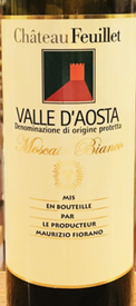 Chateau Feuillet Valle d'Aosta Moscato Bianco 2016