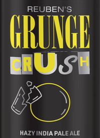 Reuben's Brews Grunge Crush IPA 16oz Can