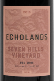 Echolands Seven Hills Vineyard Red Blend 2018