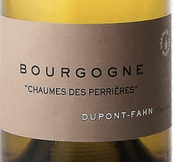 Dupont-Fahn Bourgogne Chaumes des Perrieres 2018