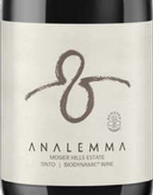 Analemma Mosier Hills Tinto 2017