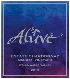 Aluve Estate Chardonnay Mennozzi Vineyard 2019