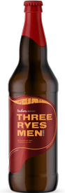 Reuben's Three Ryes Men Barleywine 22oz Bottle