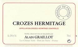 Alain Graillot Crozes Hermitage Rouge 2018