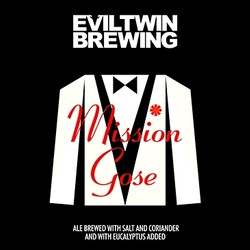 Evil Twin Mission Gose 12oz Can
