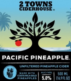2 Towns Pacific Pineapple 12oz Can