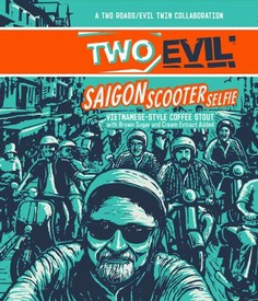 Evil Twin Two Roads Saigon Scooter Selfie 16oz Can