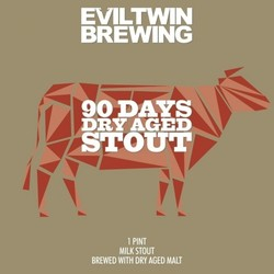 Evil Twin 90 Days Dry Aged Stout 16oz Can