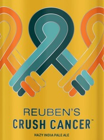 Reuben's Crush Cancer Hazy IPA 16oz Can