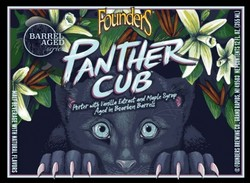 Founder's Panther Cub Vanilla Maple Porter 12oz Bottle