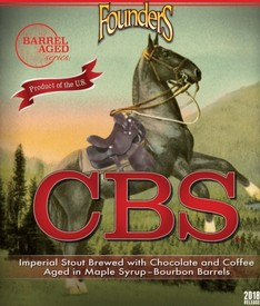 Founders CBS Barrel Aged Imperial Stout 2018