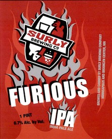 Surly Furious IPA 16oz Can