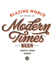 Modern Times Blazing World Hoppy Amber