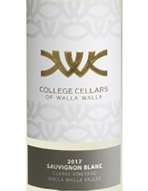 College Cellars Sauvignon Blanc 2018
