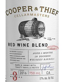 Cooper & Thief Bourbon Barrel Aged Red 2016