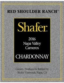 Shafer Vineyards Red Shoulder Ranch Chardonnay 2016