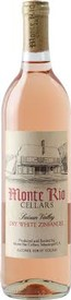 Monte Rio Cellars Dry White Zinfandel Suisan Valley 2018
