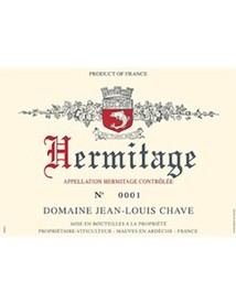 Jean-Louis Chave Hermitage Blanc 2013