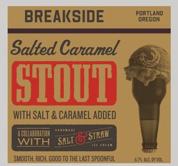 Breakside Salted Caramel Stout 16oz Can