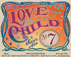 Boulevard Love Child No 7 Smokestack Series 750ml