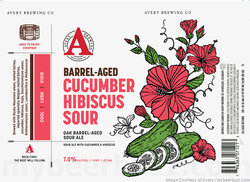 Avery Barrel Aged Cucumber Hibiscus Sour 16oz Can