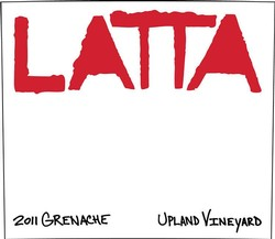 Latta Grenache Upland Vineyards 2014 Image