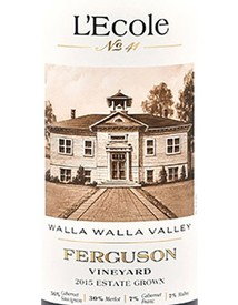 L'Ecole Ferguson Estate Red 2016