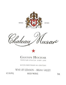 Chateau Musar Bekka Valley Gaston Hochar 2013