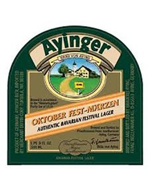 Ayinger Oktober Fest-Marzen 500mL Bottle