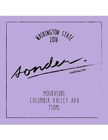 Sonder Mourvedre Columbia Valley 2017
