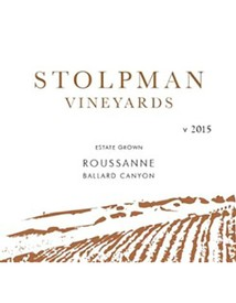 Stolpman Vineyards Estate Roussanne 2015