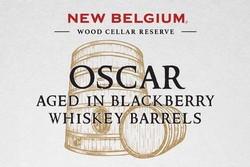 New Belgium Oscar Blackberry Whiskey Barrel 375mL