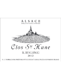 Trimbach Clos Ste Hune Riesling 2012 Image
