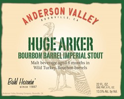 Anderson Valley BBA Huge Arker 12oz Can