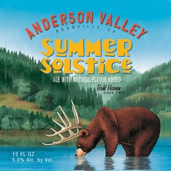 Anderson Valley Summer Solstice 12oz Can