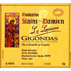 Domaine Saint Damien Gigondas La Louisiane 2017